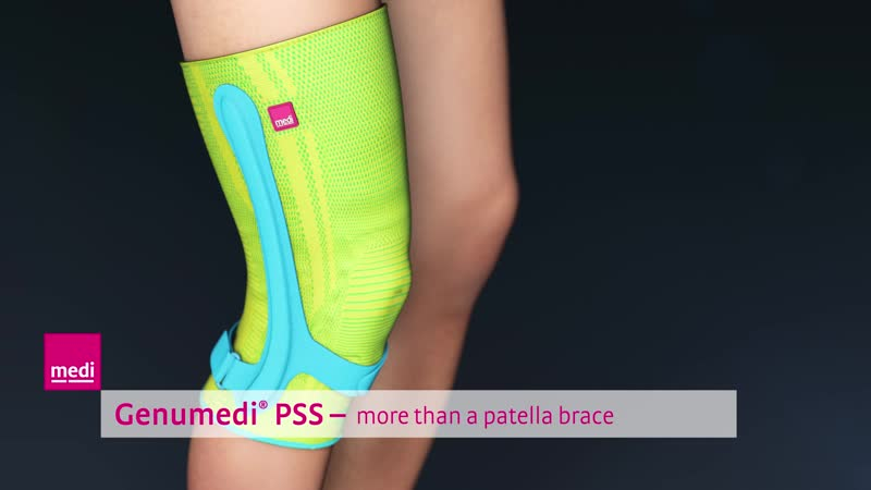 Genumedi® PSS medi's new knee support for jumper's knee