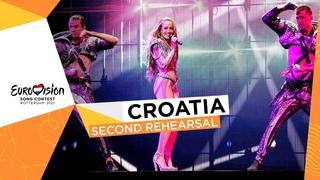 Albina - Tick-Tock - Second Rehearsal - Croatia 🇭🇷 - Eurovision 2021