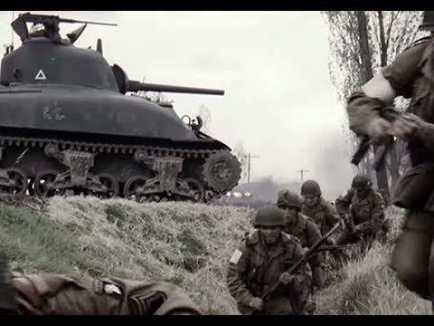 Братья по оружию американские десантники попали в немецкую засаду вторая мировая война