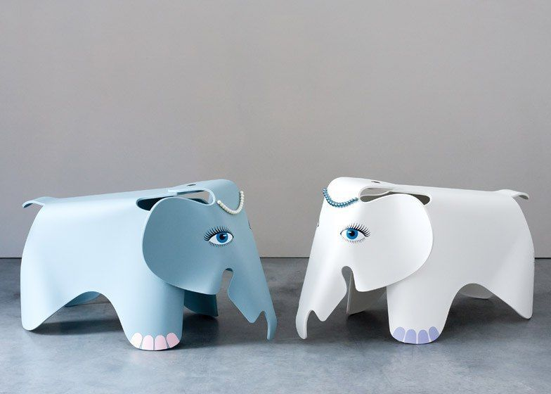Designers customise iconic Eames Elephant for designjunction charity auction
