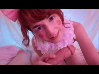 TeamSkeetXFloraRodgers - Creampied Clown Suck And Fuck / Flora Rodgers
