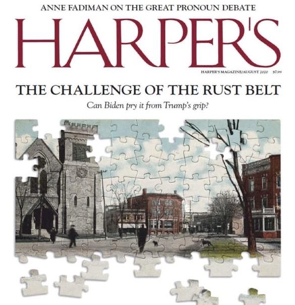 Harper 39 s Magazine - August 2020