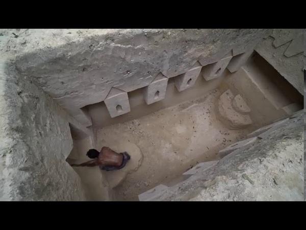Невероятно Нашел подземный храм в глухих Джунглях и косметический ремонт с бассейном