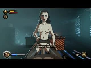 Bioshock Intimate sex oral anal cum inside ass Elizabeth