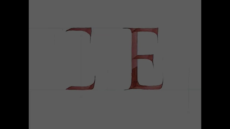 Calligraphy Advanced Techniques Change The Pen Angle Tri Le