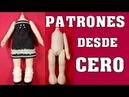 TUTORIAL PATRÓN DE MUÑECA DESDE CERO video- 380