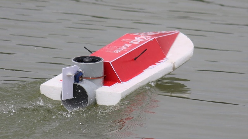 How to make a Boat Amazing RC DIY toys BOAT