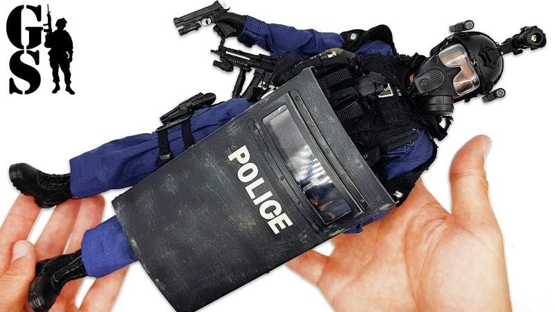 Американский полицейский спецназ SWAT обзор фигурки в масштабе 1 6