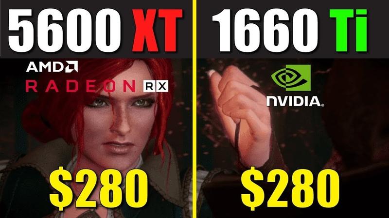 RX 5600 XT vs. GTX 1660 Ti