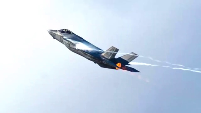U S fighter aircraft plane crash Prophecy fulfilled