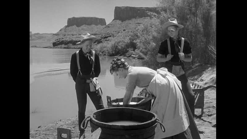 Джон Уэйн в фильме Рио Гранде Мелодрама вестерн США 1950