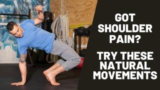 FIX YOUR SHOULDER PAIN | 5 Natural Movements for Healthier & Stronger Shoulders + Training Routine