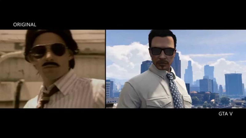 Beastie Boys Sabotage Original vs GTA V Comparison