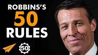 Tony Robbins's Top 50 Rules for Success (TonyRobbins)