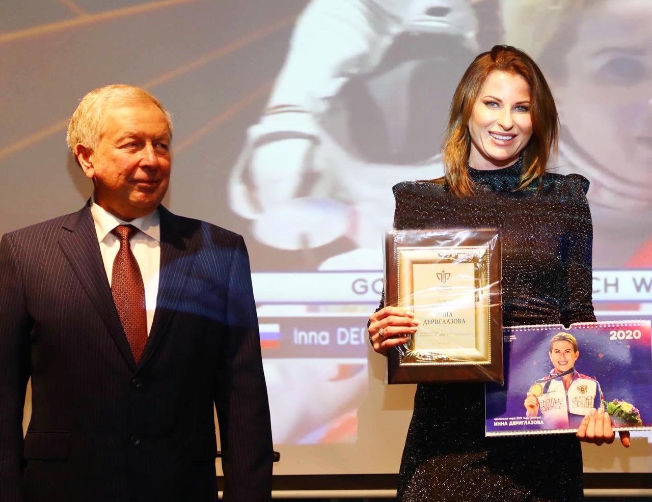Федерация фехтования России признала Инну Дериглазову лучшей спортсменкой года