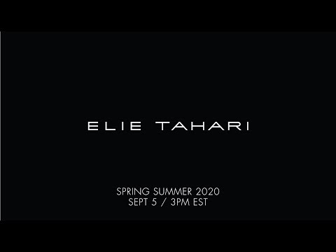Elie Tahari Spring 2020 Runway Show Live from NYFW