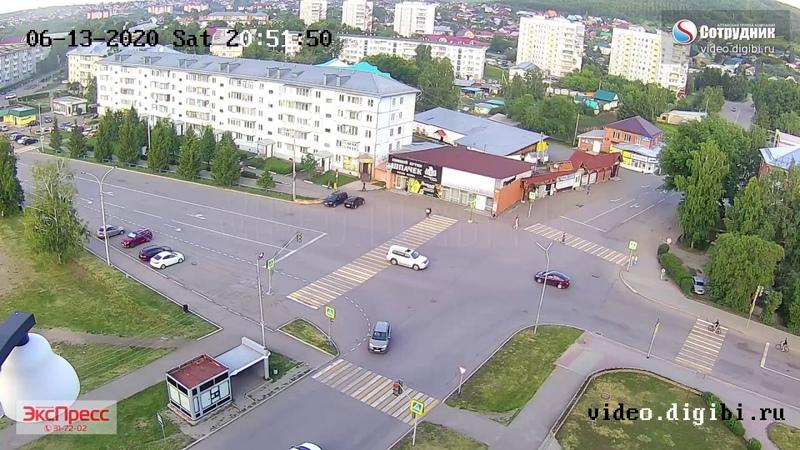 ДТП наезд на велосипедиста г. Белокуриха 13.06.2020