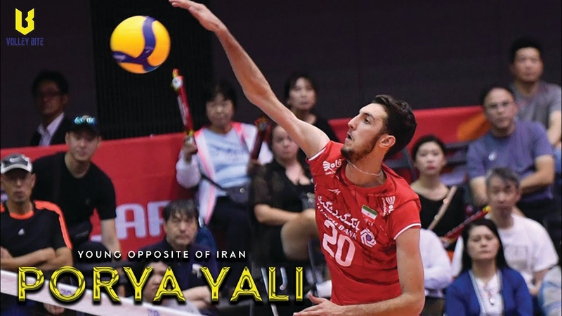 Porya Yali | Opposite Spiker | The Young Talented from Iran