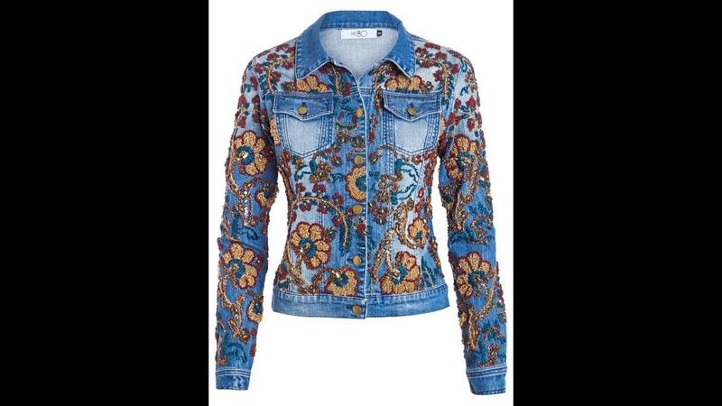 как обновить пиджак из джинс