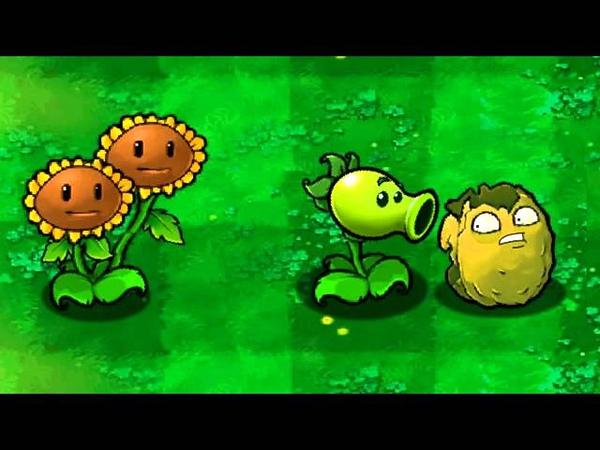 Plants vs Zombies Wall nut Gets Bitten