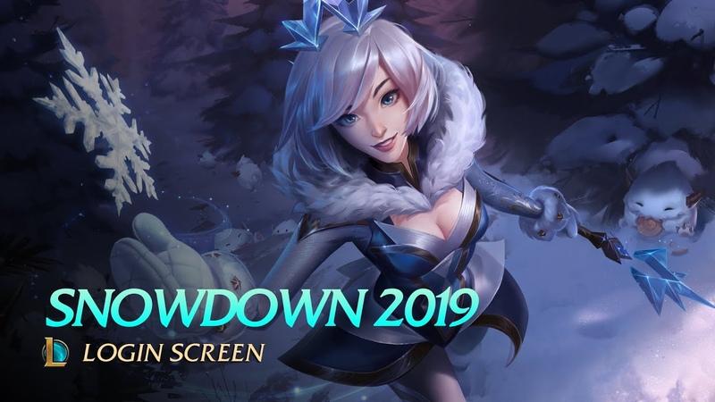 Snowdown 2019 - Login Screen [fanmade]