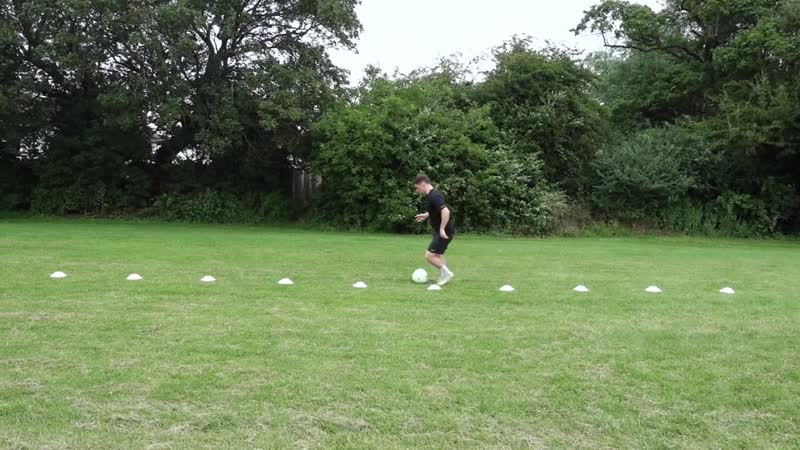 10 Cone Weaving Drills To Improve Yoоur Dribbling For Football _ Improve Your Clo