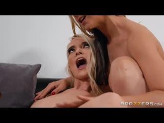 Lana Sharapova  Sarah Vandella (The More The Merrier) [2020, Athletic, Big Tits Worship, Lesbian, MILF, Threesome, 1080p]