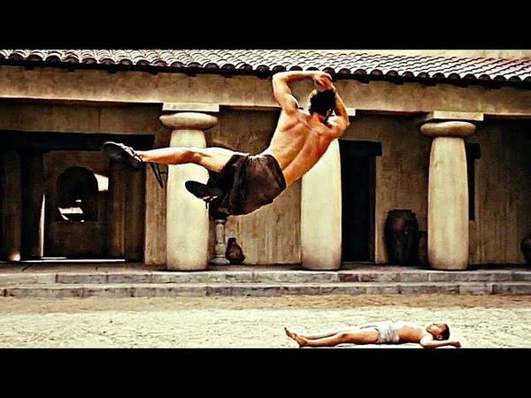 Тренировки спартанцев - Знакомство со спартанцами (2008) - момент из фильма