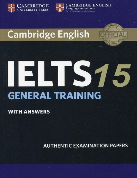 cambridge ielts 15 general training with answers
