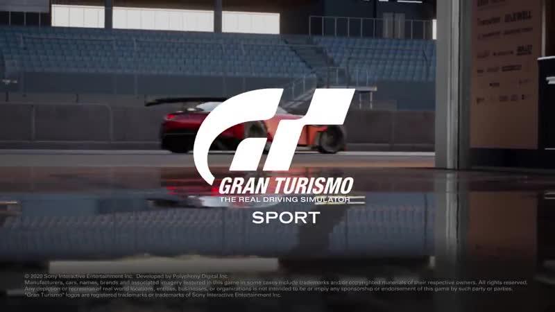 Mazda RX-Vision GT3 Concept в обновление 1.59 для игры Gran Turismo Sport!