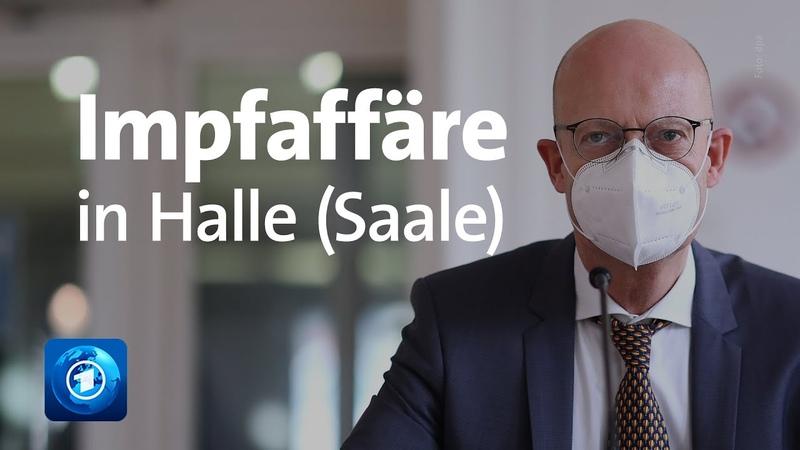 Impfaffäre in Halle Saale Durchsuchung bei Oberbürgermeister