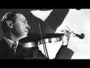 Heifetz plays his transcription of Fosters Jeannie with the Light Brown Hair live