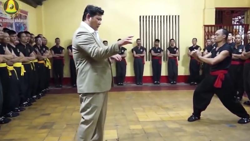 Kung-Fu truyền điện của Huỳnh Tuấn Kiệt chưởng môn phái Nam Huỳnh Đạo.