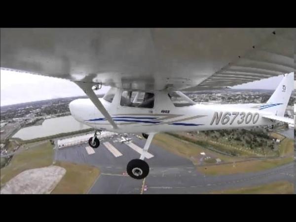Cessna 152 Mcallen to Harlingen in the rain
