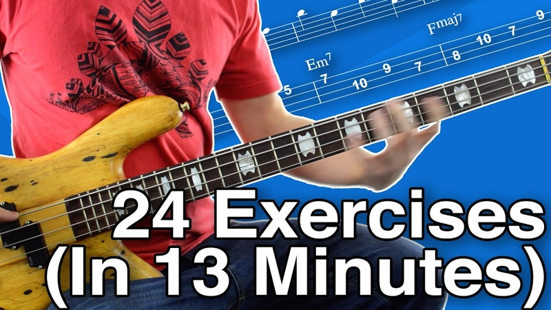 KILLER Bass Workout For All Levels (Beginner, Intermediate AND Advanced Versions)