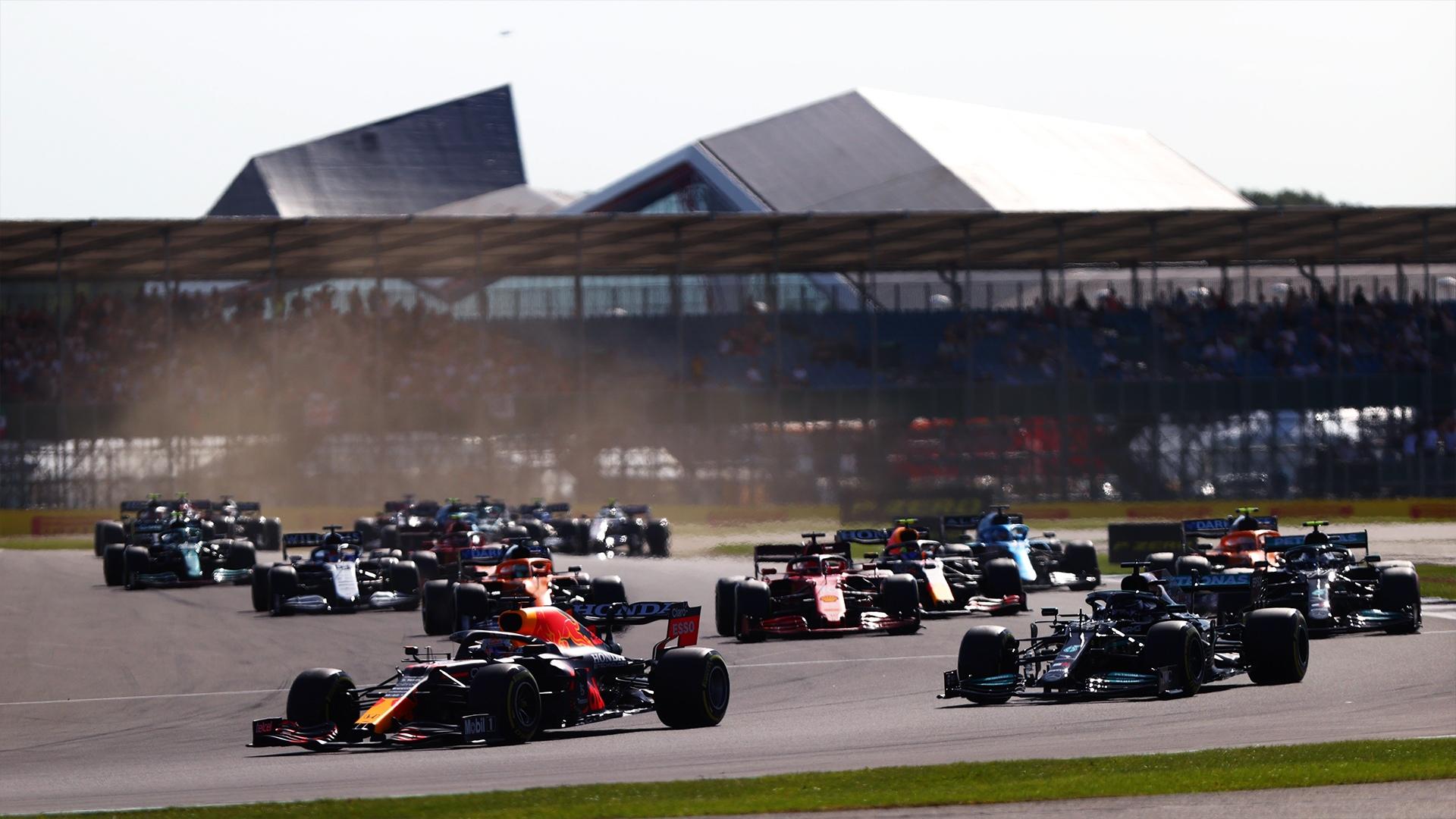 Первый спринт в истории Формулы-1 на автодроме Сильверстоун