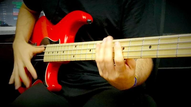 Miki's Groove Slap Bass Solo Miki Santamaria With TABS Yamaha BB Custom