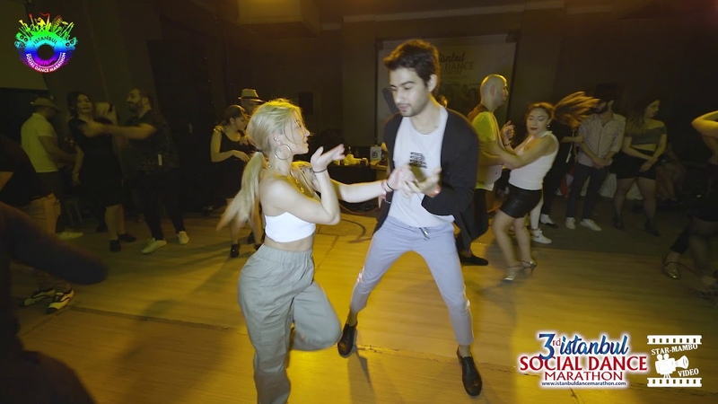 Furkan Aydinoglu Evgenia Volynchuk - social dancing @ 3rd Istanbul Social Dance Marathon