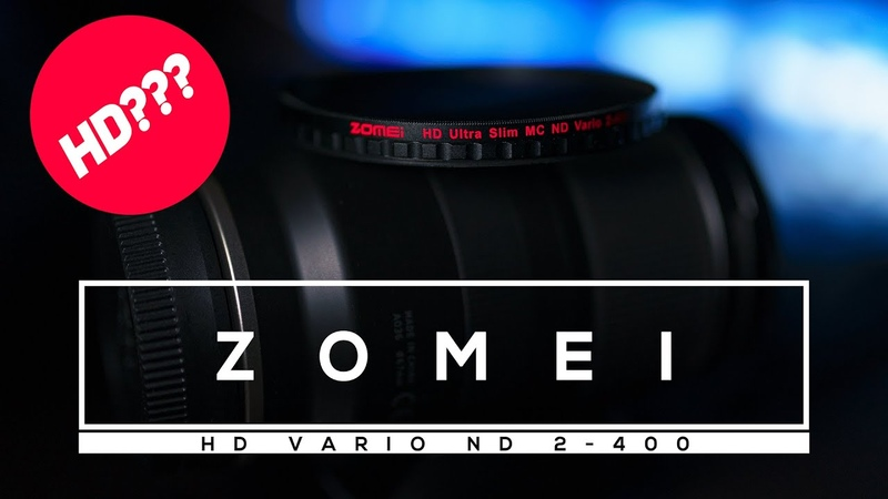 Обзор Zomei HD Vario ND 2 400
