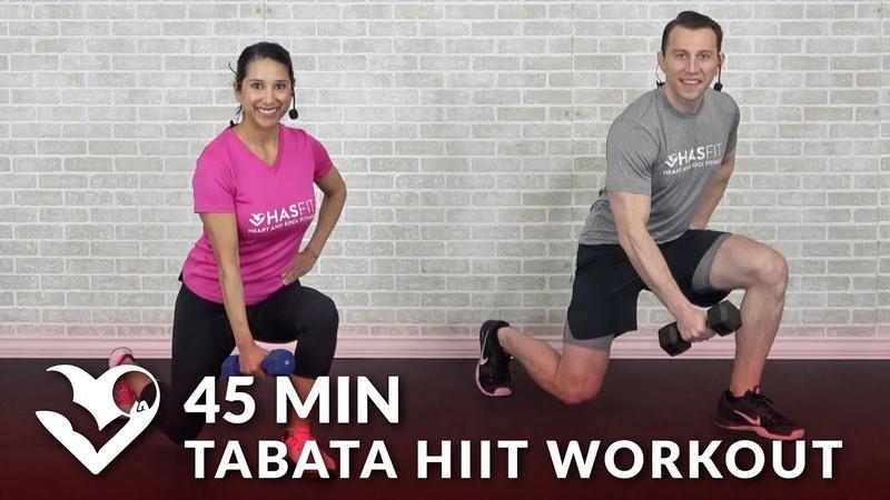 HASfit HIIT Workouts for Weight Loss Strength Тренировка с гантелями для тонуса мышц