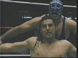 Latin Lover & Panterita Del Ring vs Blue Panther & Heavy Metal (National Tag Team Titles)