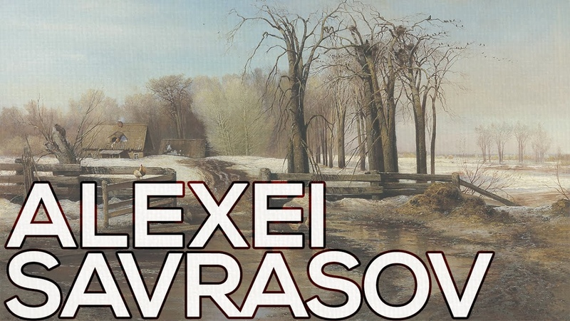 Alexei Savrasov A collection of 169 paintings (HD)