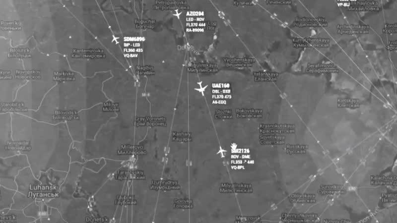 Диспетчер в последний момент предотвратил столкновение самолетов над Ростовской