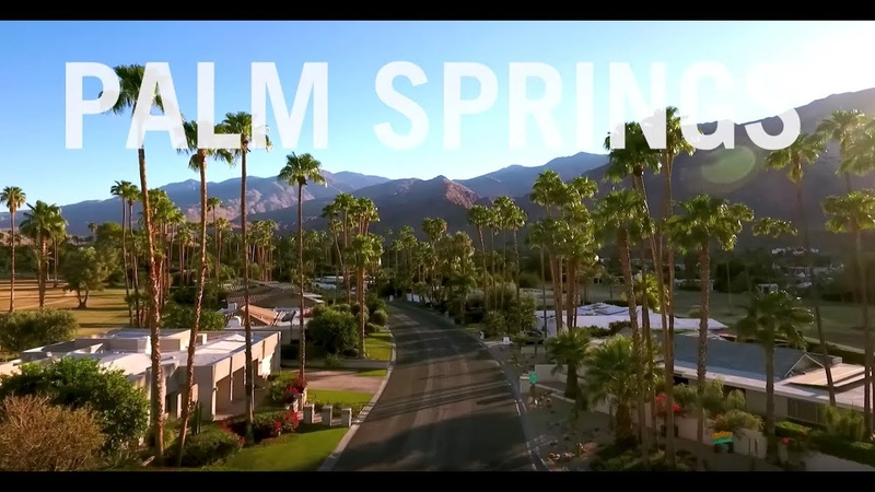Palm Springs Drone Drone The Globe Travel Leisure