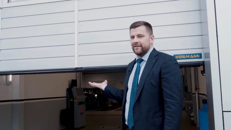 Тойота Центр Минск Восток выбирает Hörmann