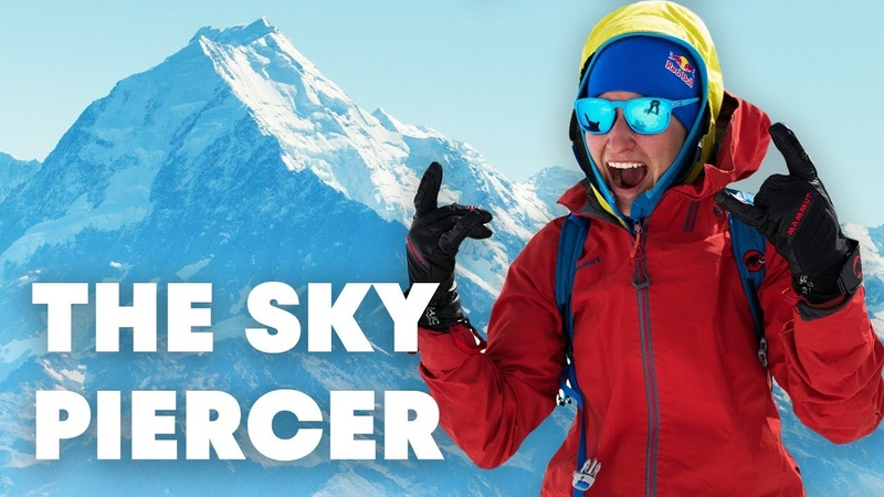 Freeskiing New Zealand's Highest Mountain The Sky Piercer Full Movie