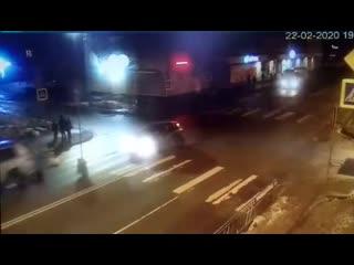 Наезд в Архангельске