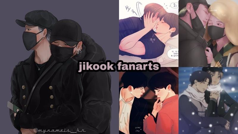 Jikook/kookmin fanart pt6