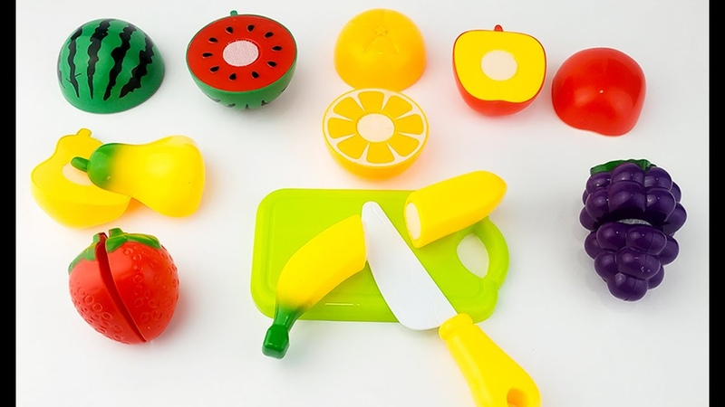 ASMR Toy Fruits Cutting Play Transformed into a Real Fruit