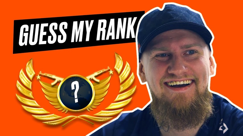 IT S RIGGED?! Fnatic CSGO try to guess YOUR rank! ft. Krimz Flusha Golden